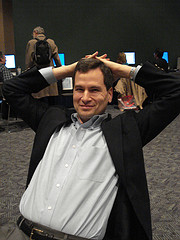 David Pogue by Andrea Mercado Licensed Creative Commons Attribution-Noncommercial-Sharealike