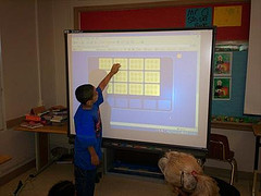smartboard user by algona81 Creative Commons licensed Attribution-Noncommercial